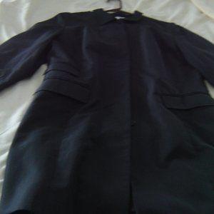 BLACK LITE WEATHER COAT FROM ANN TAYLOR LOFT